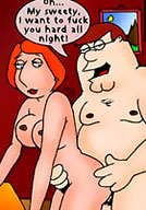 Lois gets cummed all over her body
