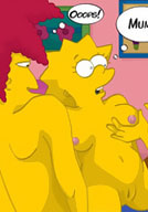 Seductive Lisa Simpson with curvy body gets played with by Todd Flanders