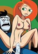 Hot Shego attacked to ecstasy by meat wang
